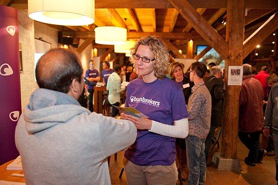 Veel werkzoekenden uit de gemeente Heusden brachten een bezoek aan de Meet & Greet.