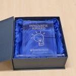 De innovatieaward van Baanbrekers is onlangs voor de eerste keer uitgereikt aan leerlingen van het Technasium van het d'Oultremontcollege in Drunen.