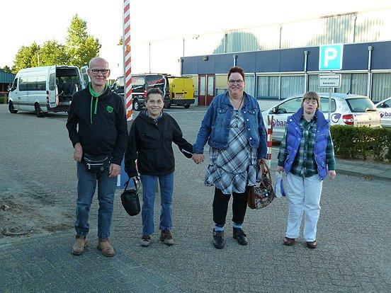 Veel deelnemers waren al vroeg van de partij bij het Truckfestijn bij Baanbrekers.