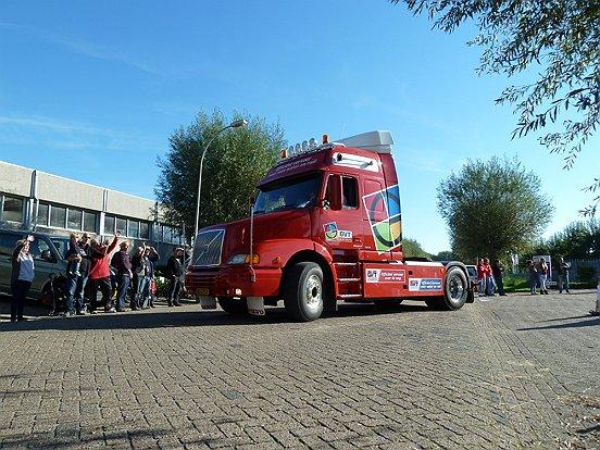 De meest mooie vrachtwagens werden ingezet om de deelnemers een leuke dag te bezorgen.