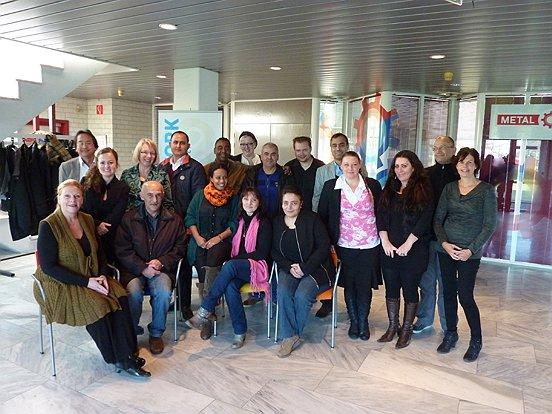 De talenten van het KW1C-traject en de begeleiders van het Koning Willem 1 College, de gemeente Heusden en Baanbrekers.