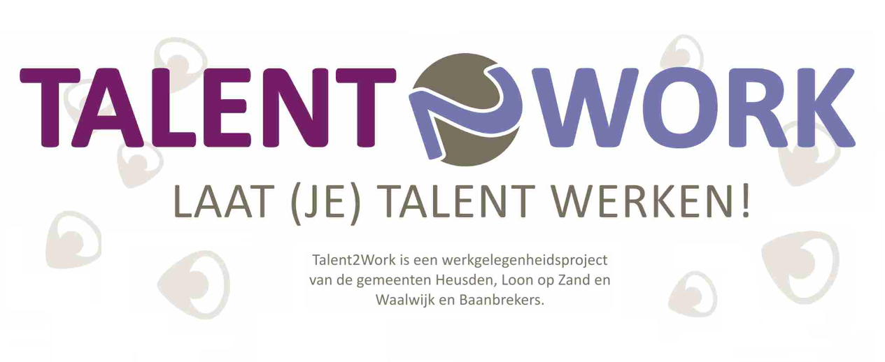 Talent2Work is er voortaan in de drie Langstraatgemeenten.