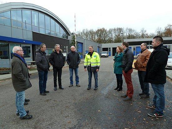 Negen talenten van Talent2Work namen onlangs een kijkje achter de schermen bij de buitendienst van de gemeente Heusden.