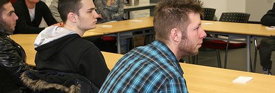 Ruim veertig leerlingen van MET waren op bezoek bij Baanbrekers/