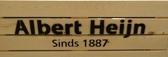 Albert Heijn is al behoorlijk oud. De winkel in Kaatsheuvel is van meer recente datum.