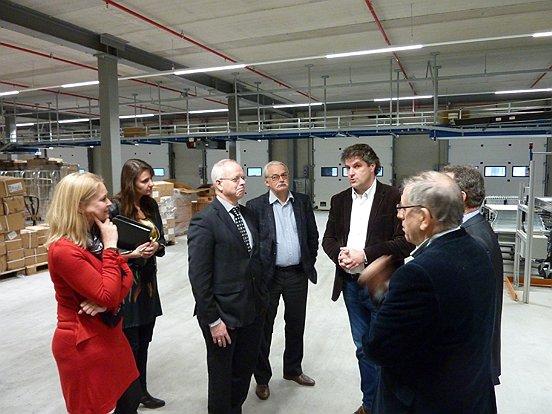vanHaren Schoenen opende in 2013 een nieuw, groot en modern magazijn op bedrijfsterrein haven 7.