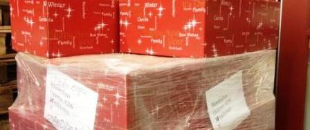 Baanbrekers zoekt altijd een goed doel voor de kerstpakketten die over blijven.