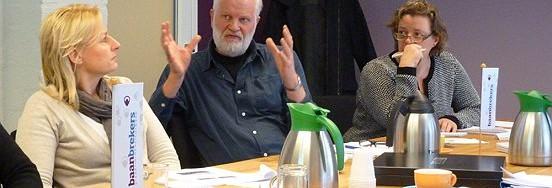 Goede vragen en geanimeerde discussies tijdens het werkbezoek van LANDER en Wedeo.