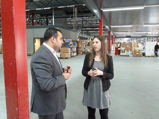 Investeren in medewerkers is erg belangrijk, vertelde recruiter Eva Gulpen aan accountmanager Saïd Majiti van Baanbrekers.