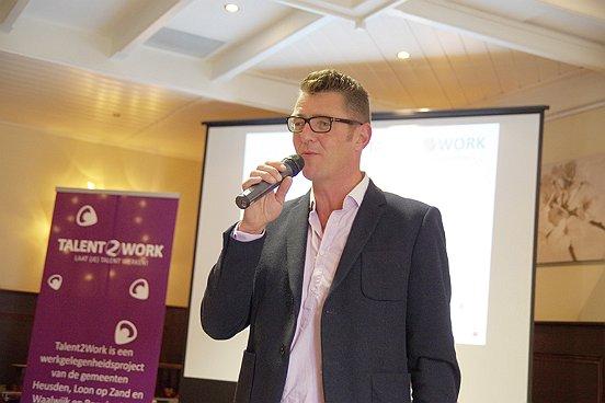 """""""Met Talent2Work willen we zoveel mogelijk mensen met een uitkering aan het werk krijgen"""", vertelt manager re-integratie & participatie Frank Pijnenburg."""
