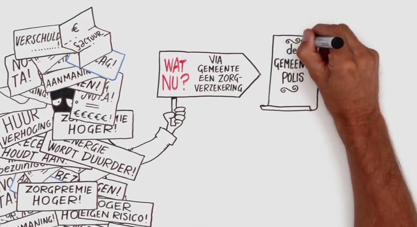 De gemeenten Heusden, Loon op Zand en Waalwijk en Baanbrekers vinden het belangrijk dat minima goed verzekerd zijn tegen ziektekosten.
