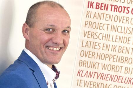 Henny de Haas, algemeen directeur bij Hoppenbrouwers Techniek uit Udenhout, inspireerde de ondernemers van het HBP met een verhaal over het hebben van plezier in het werk, het herkennen en het ontwikkelen van talent en het uitgaan van vertrouwen en ambities.