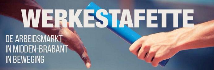 De Werkestafette is een aaneenschakeling van terugkerende activiteiten en evenementen die de regionale arbeidsmarkt in Midden-Brabant in beweging moet brengen en houden.