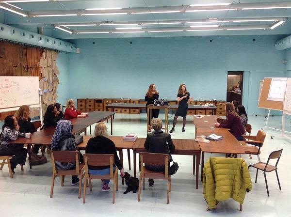 Elf talenten van Talent2Work gingen op bezoek bij SLEM.