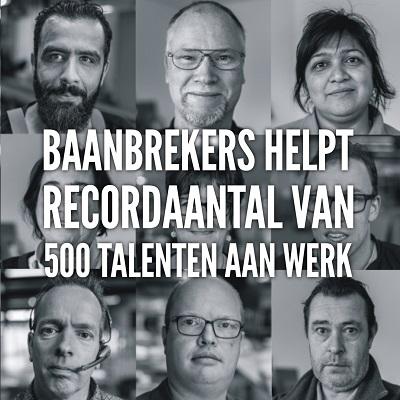 Baanbrekers bereikte in 2016 een plaatsingrecord! - foto: archief Baanbrekers.