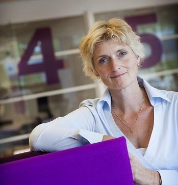 Marion van Limpt neemt afscheid van Baanbrekers. (c) Erik van der Burgt/www.verbeeld.nl