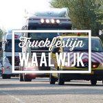 Het Truckfestijn Waalwijk vertrekt vanaf het bedrijfsterrein van Baanbrekers.