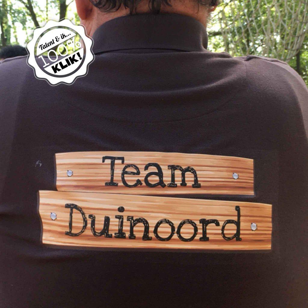 Wie gaat werken bij Duinoord ervaart al snel het teamgevoel.