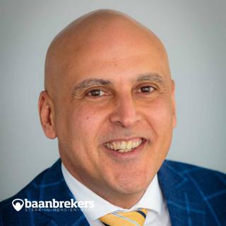 Ahmed Kansouh, de nieuwe directeur van Baanbrekers.