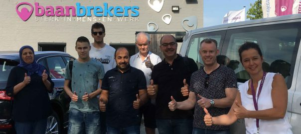 De talentenbus van Baanbrekers trok op woensdag 4 juli jl. lansg werkgevers in de Langstraat op zoek naar een klik tussen werkgevers en werkzoekenden.