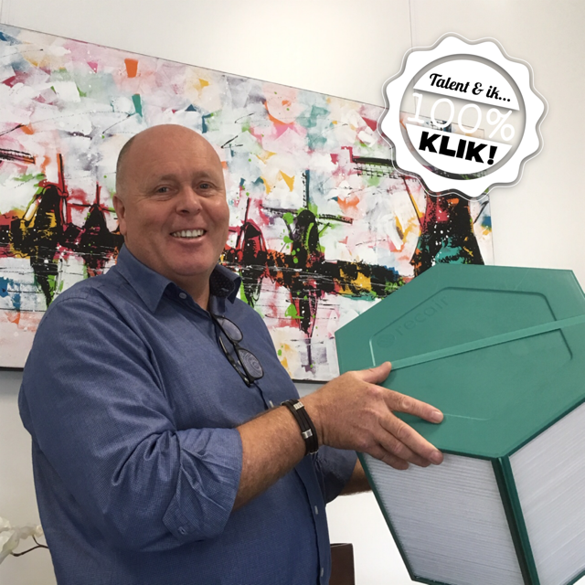 Frans Klis, productieleider bij Recair b.v. in Waalwijk, vindt het belangrijk om de talenten van Baanbrekers een kijkje in de keuken te geven.