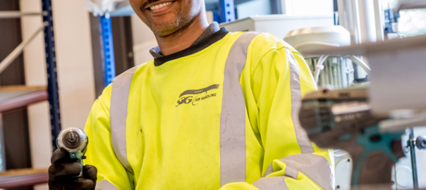 Okubay enthousiaste medewerker bij SIG Interland Techniek
