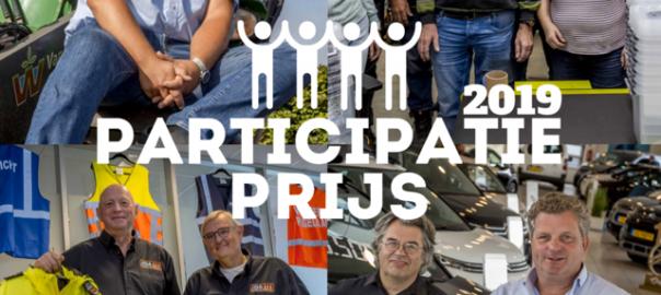 De winnaars van de Participatieprijzen 2019,