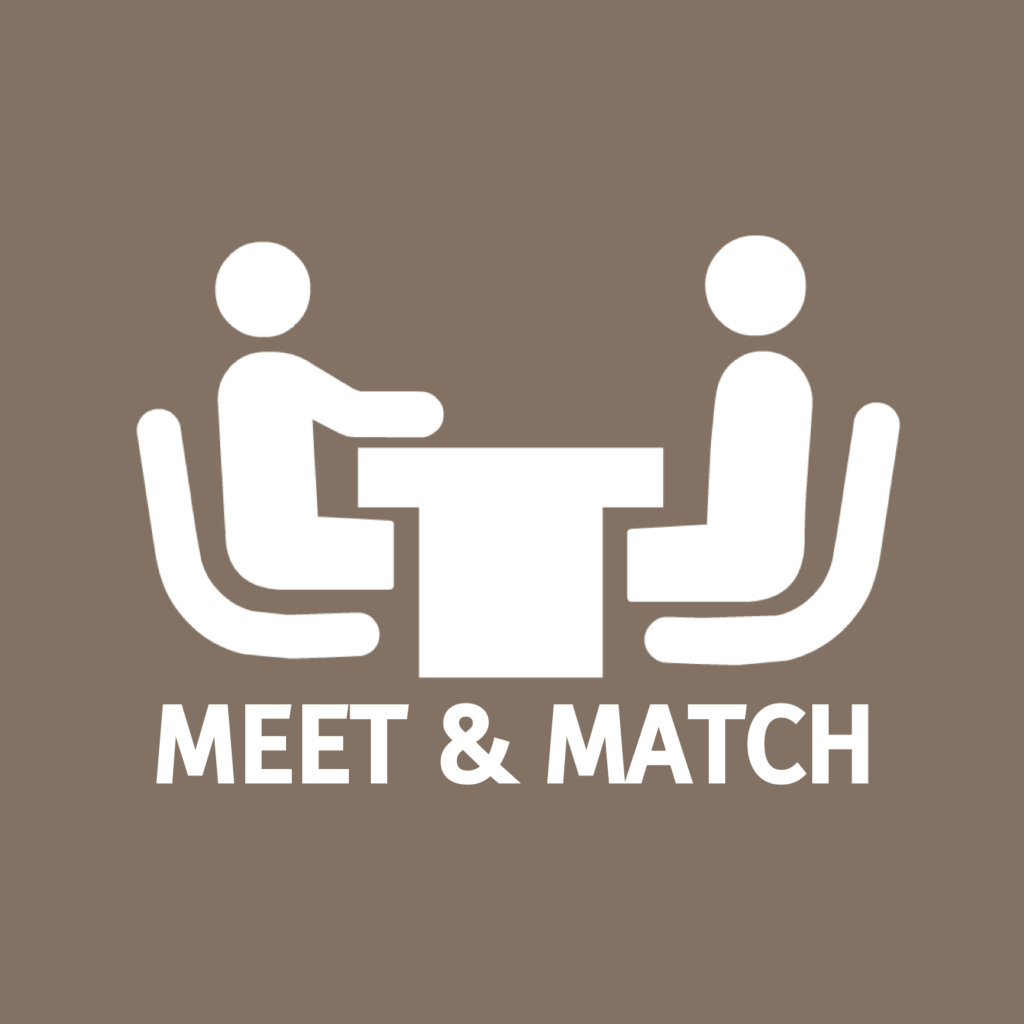 Meet & Match was een succes.