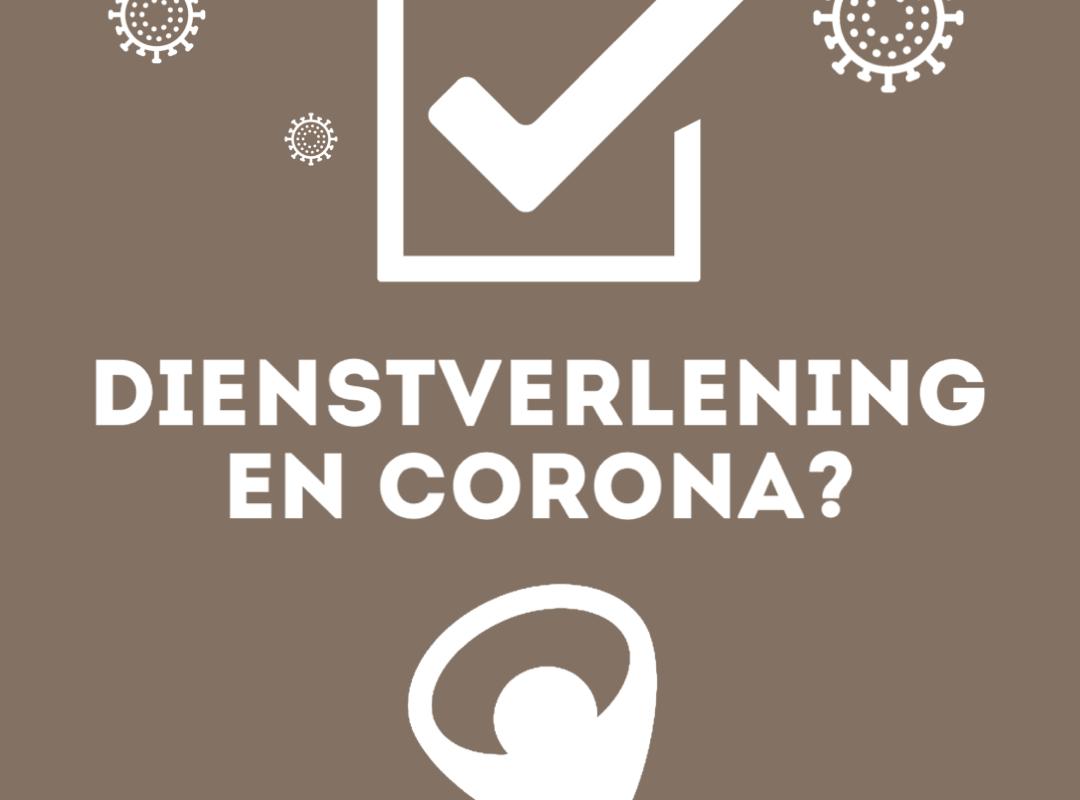 Dienstverlening Baanbrekers en het coronavirus