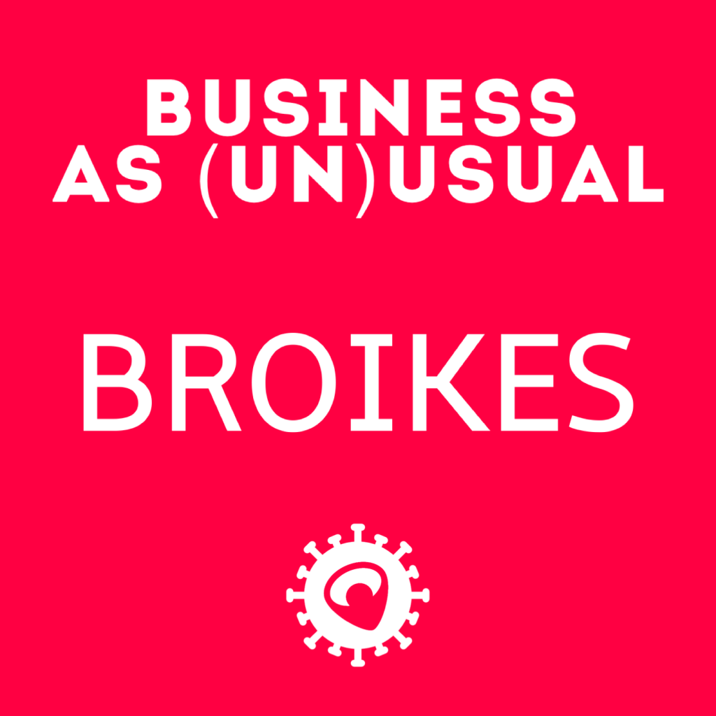 Business as (un)usual bij Broikes.