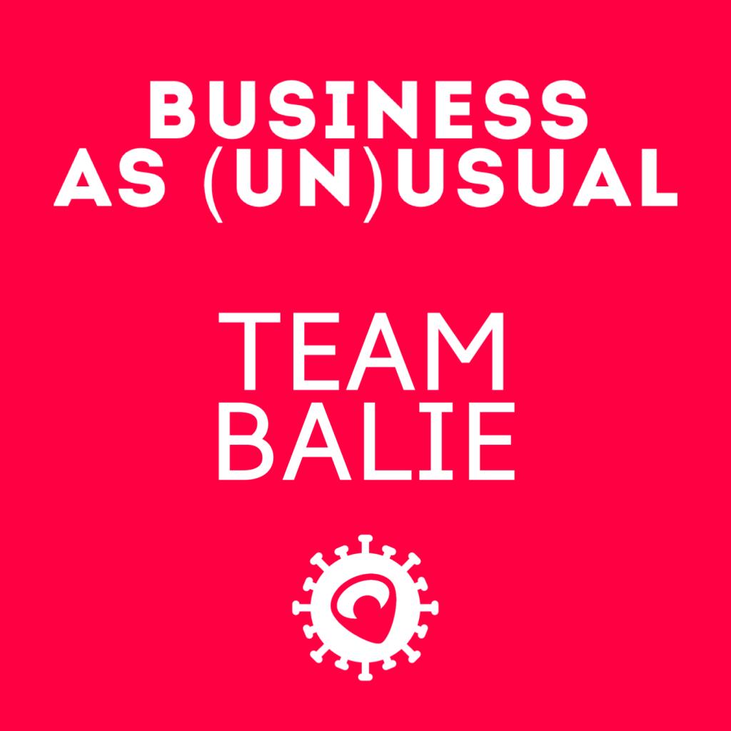 Business as (un)usual bij het team van de balie van Baanbrekers.