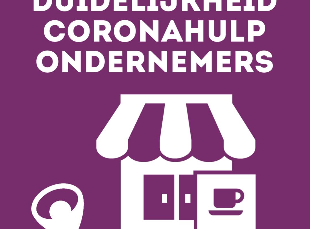 Er is meer duidelijk over de coronahulp aan ondernemers en zzp'ers.